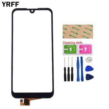 Phone Touch Screen Panel For Huawei Y5 2019 Honor 8S Sensor Front Outer Glass Digitizer Touch Digitizer Tools mobile touch screen panel for huawei honor 7a pro aum l29 touch screen digitizer sensor outer glass panel wipes