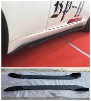 High quality Carbon Fiber Side Skirts Kit Lip Splitters Bumper Cover Fits For Jaguar F TYPE 2014 2015 2016 2017 2018 2019