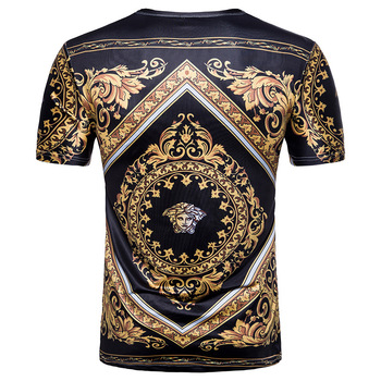 2020 T-shirt camouflage shirt mens fitness new 3d printing summer tee anime clothes short sleeve