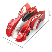 New RC Car Wall Climbing Toys Remote Control Drift Flashing Race Anti Gravity Mini Stunt Toy Gifts for Kid