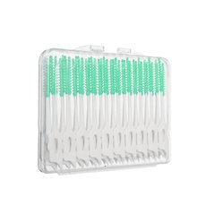 Новый 40 шт мягкая чистка между межзубной нитью щетки для зубов