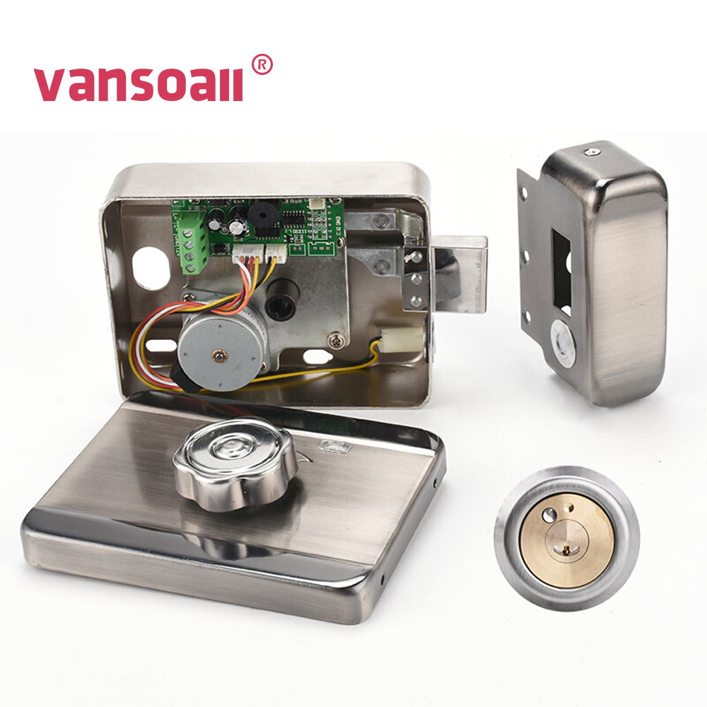 VANSOALL Electric Control Lock Electronic RFID Door Lock For Video Intercom Doorbell Door Access Control System