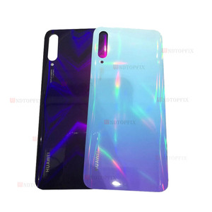 Image 4 - Original Back Cover Case Back Battery Cover Housing For Huawei Y9s Back Cover P smart Pro 2019 Battery Back Rear Glass Cover