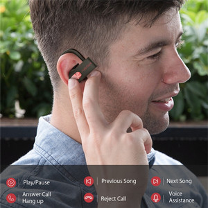 Image 5 - สำหรับ BlitzWolf AIRAUX AA UM2 TWS bluetooth5.0 กีฬาหูฟังสเตอริโอ HIFI หูฟังกีฬาหูฟังพร้อม Braid CHARGING Case