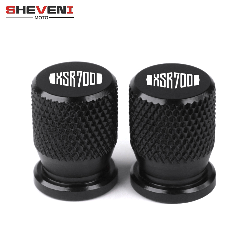 For YAMAHA XSR 700 XSR 900 All Years Universal Motorcycle Wheel CNC Aluminum Tire Valve Stem Air Covers Airtight Caps