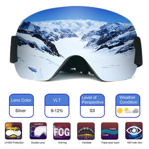 Snowboard Ski Goggles Gear Skiing Sport Adult Glasses Anti-fog UV Dual Lens