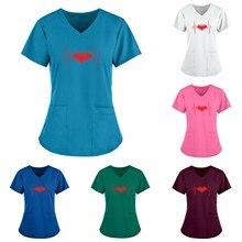 Nurse Uniform Women Pocket Women