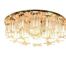 3 Вт 5 Вт Хрустальный светодиодный потолочный светильник AC90-260V современный светодиодный хрустальный светильник светодиодный потолочный светильник для гостиной