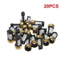 20 sztuk wtryskiwacz paliwa mikro filtr filtr układu paliwowego samochodu do wtryskiwacza paliwa części wtryskowe paliwa 12*6*3mm tanie tanio BIEPU CN (pochodzenie) universal ASNU03C China 12mm copper