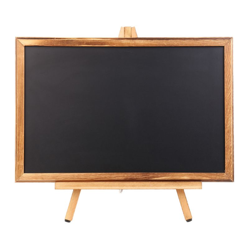Desktop Memo Message Blackboard Easel Chalkboard Bracket Sketchpad Kids Writing L29k