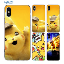 Pokemons Cute Cartoon Fundas Silicone Phone Back Case For Apple iPhone 7 8 6 6S Plus XS MAX X XR 10 TEN SE 5S 5 Shell Hull Cover