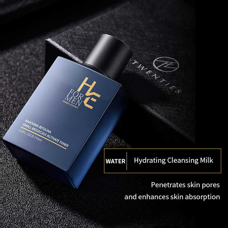 Hearn Men S Quality Skin Care Set Cleanser Milk Control Oil Moisturizing Acne Care Care Whitening Cleanser Set Capacity High Aliexpress