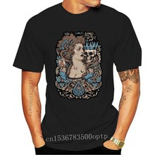 MADAME PLANCHETTE T shirt pirate medium tarot skull crown gothic baroque gig poster paranormal