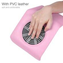 30W taşınabilir tırnak toz toplayıcı tırnak toz emme elektrikli süpürge manikür makinesi 2 torba UV jel oje temizleyici