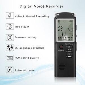 Image 4 - מקצועי 8GB מקליט קול עט USB MP3 נגן mult פונקצית דיקטפון הדיגיטלי אודיו מקליט ראיון עם VAR/VOR