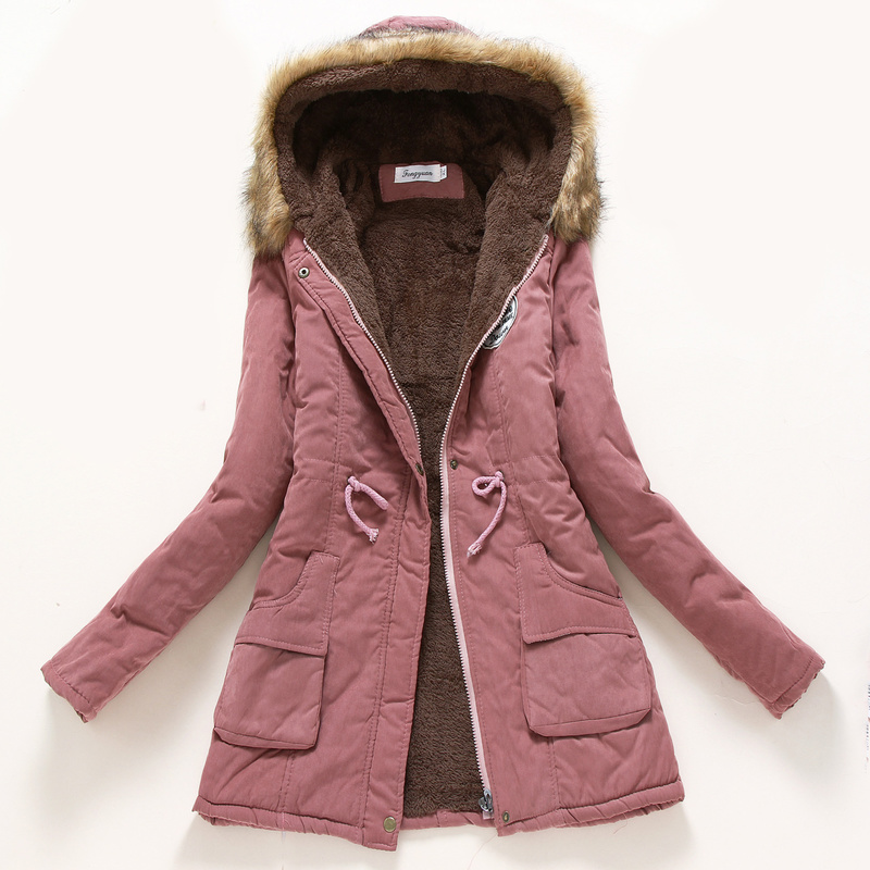 Plus Size 3XL Winter Maternity Coat For Pregnant Women Fluff Keep Warm Maternity Jackets Winter Pregnacy Coats Women Clothing