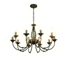 Free Shipping!Rustic Wrought Iron Chandelier E27*1pcs LED Black Venge Candelabra Vintage Antique Frosted Glass Pendant Lamp цена 2017