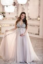 Блестящие платья для выпускного вечера со стразами беременных