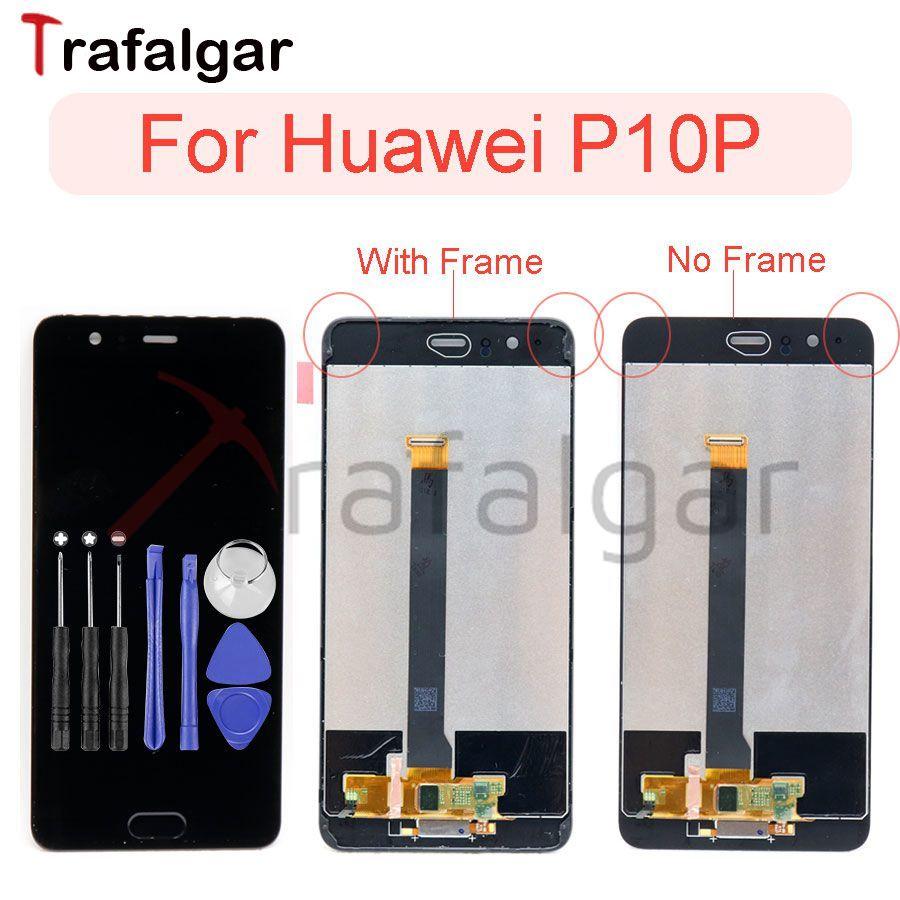 """Huawei 社 P10 プラス VKY L29 Lcd ディスプレイタッチスクリーンパネルデジタイザ 5.5 """"Huawei 社 P10 プラスフレームと Lcd VKY l09 L29 画面  グループ上の 携帯電話 & 電気通信 からの 携帯電話用液晶ディスプレイ の中 1"""