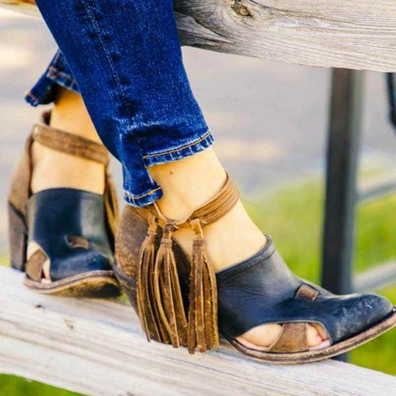 Vertvie kış kadın Martin çizmeler püskül orta topuklu ayakkabı PU deri yarım çizmeler perçin toka günlük ayakkabı kadın kısa çizmeler