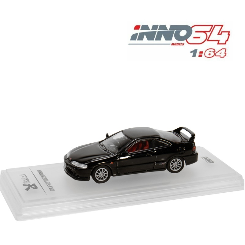 Inno64 1:64 Honda Integra Tye R DC2 1996 Black  Diecast Model Car