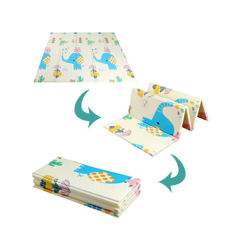 Large Size Foldable Cartoon Baby Play Mat Xpe Puzzle Children's Mat Baby Climbing Pad Kids Rug Baby Games Mats Toys For Children 5