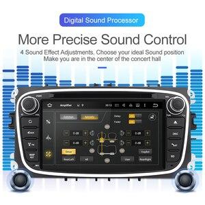 Image 2 - Isudar автомобильный мультимедийный плеер Android 10 GPS Авторадио 2 Din для FORD/Focus/Mondeo/S MAX/C MAX/Galaxy RAM 4 Гб 64 Гб радио DSP DVR