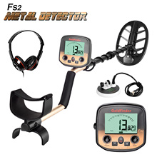 New Arrival Underground Metal Detector Search Pro Gold Finder Bug Detector 2 Coils Treasure Hunter Finder Pinpointer LCD Display new arrival metal detector handheld pro pointer dual use pinpointer gc2007 waterproof sensitivity pinpointer metal detector