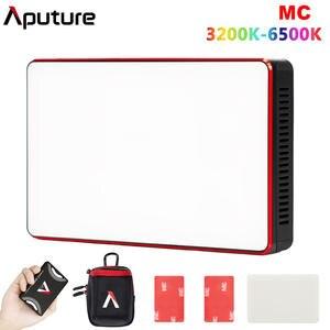 Aputure RGB Light Link MC 3200K-6500K Mini Portable RGBWW App Cct-Control Sidus Full-Hsi