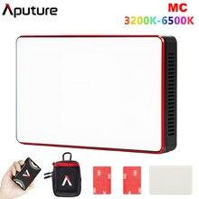 Aputure AL MC MC RGBWW Portable Film Light Full HSI Color Control 3200K 6500K CCT Control Mini RGB Light Sidus Link app
