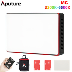 Aputure AL-MC MC RGBWW Portable Film Light Full HSI Color Control 3200K-6500K CCT Control Mini RGB Light Sidus Link app