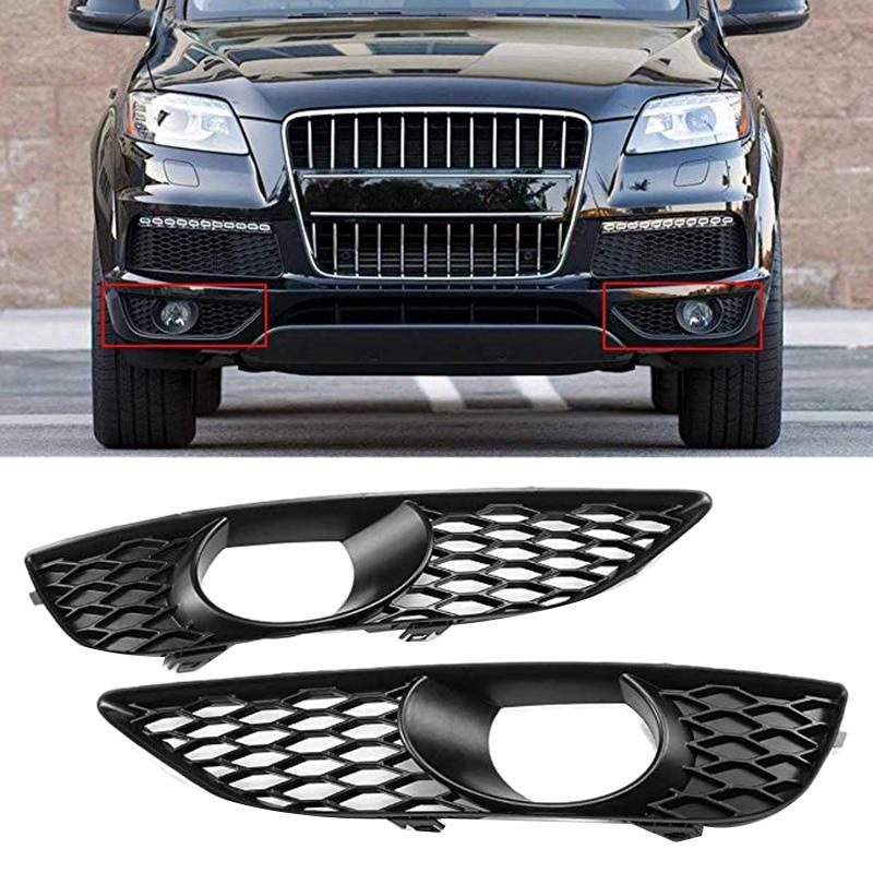 Car Front Bumper Fog Light Grille Cover for Audi Q7 4L 4L S LINE N/S 2009 2014 4L0807675C|Racing Grills|   - title=