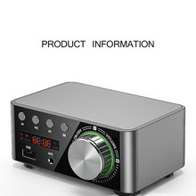 Mini HIFI Bluetooth Power Amplifier Digital Audio Amplifier Board 50wx2 Stereo Amplifier Home Car Audio Amp