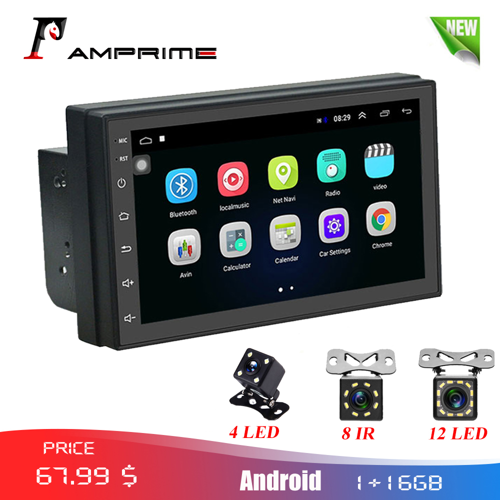 AMPrime 2din автомобильное радио Android 7