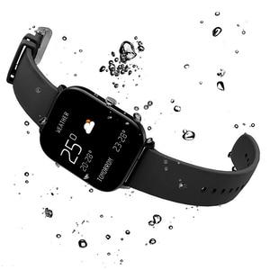 Image 4 - P8 montre intelligente hommes femmes Sport bracelet horloge moniteur de fréquence cardiaque moniteur de sommeil IP67 étanche Smartwatch tracker pour téléphone