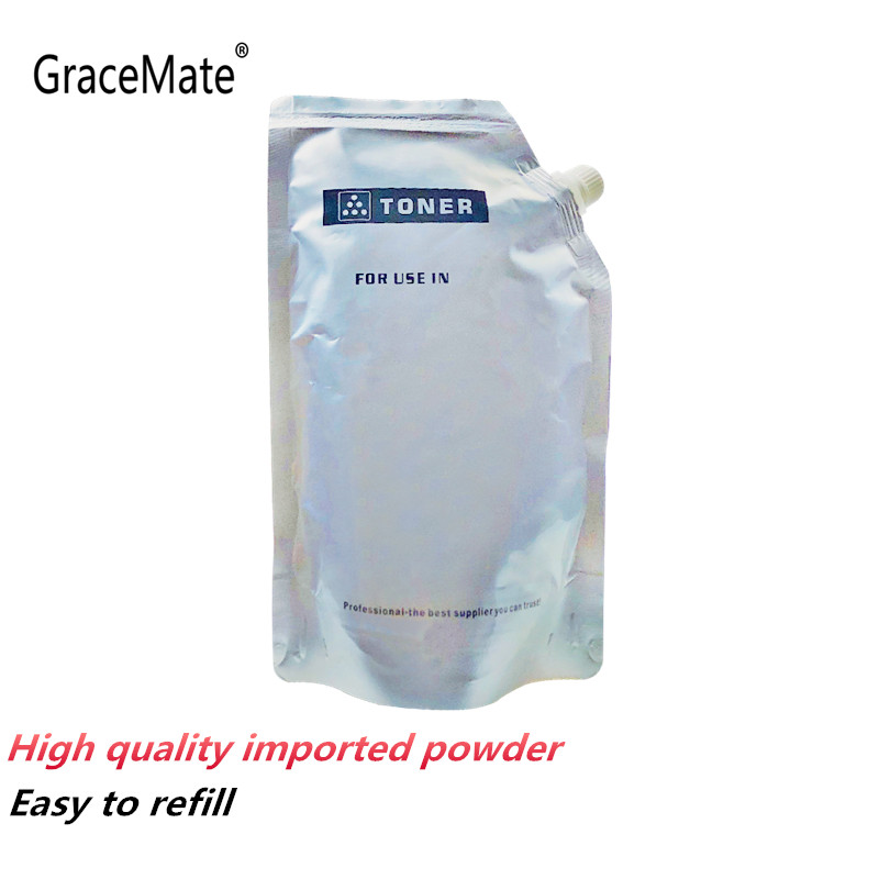 Compatible White Toner Powder Universal For HP Laser Printer Toner Cartridge Color LaserJet CP5225 CP1510n M452dw Toner Refill