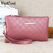 Ladies Wallet Women PU Leather Tassel Clutch Bag Girls Zipper Clutch Coin Purse Female Wrist Bag Handbag for Shopping