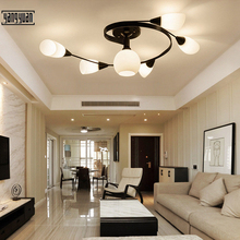 E27 Modern artpad LED Ceiling Lamp Indoor Illuminate Lighting American Village Living Room Bedroom Childern Lights