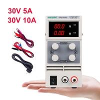 DC Lab Power Supply Adjustable Laboratory 30V 10A Switching Bench Source Digital Voltage Stabilizer Current Regulator DC 3010D