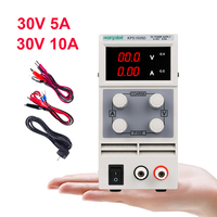 DC Lab Power Supply Adjustable Laboratory 30V 10A Switching Bench Source Digital Voltage Stabilizer Current Regulator DC 3010D