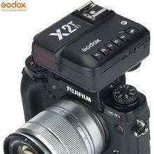 Godox X2T-F X2TF I-Ttl Bluetooth 1/8000S Hss 2.4G Draadloze Trigger Zender Voor Fujifilm Camera v1 TT685F AD200 AD300P