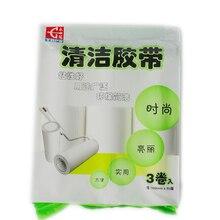 Ролик для удаления пыли и шерсти домашних животных, 3 рулона