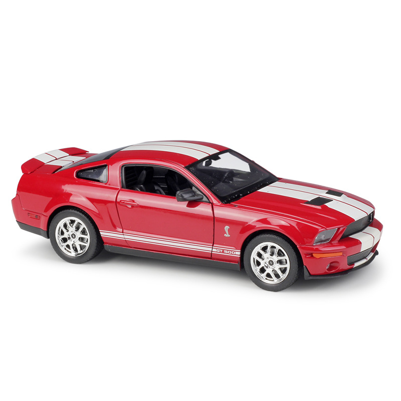 Welly <font><b>1:24</b></font> <font><b>Ford</b></font> <font><b>Mustang</b></font> Shelby Bobra GT500 2007 Diecast Car image