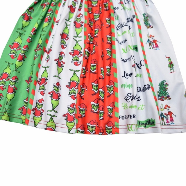 The Grinch 2020 Christmas Outfit Hot Deal #a7797f   The Grinch Dress For Girls 2020 Santa Dress