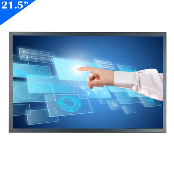 ZHIXIANDA 21.5 inch FHD 1920x1080 industrial screen support HDi VGA USB input open frame Resistive touch monitor with speaker 19 open frame touch for inch metal wall mount touch monitor industrial 5 wire resistive touch monitor