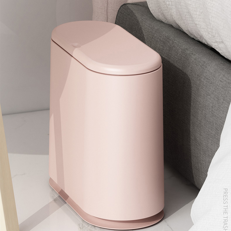Kitchen Trash Cans | Trash Cans For The Kitchen Bathroom WC Garbage Classification Plastic Rubbish Bin Dustbin Bucket Pressing Type Zero Waste Bin