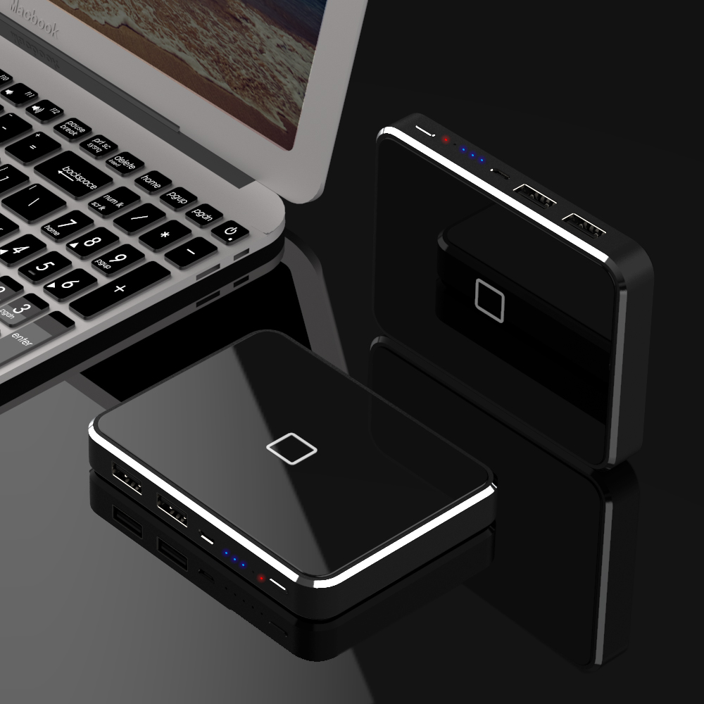Newest Wireless Charger <font><b>Power</b></font> <font><b>Bank</b></font> Phone External Battery Charger Support Wireless Charging for iPhone Samsung Huawei <font><b>Xiaomi</b></font> etc image
