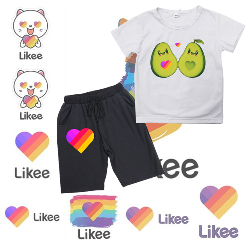 Likee kid clothing set boys cute summer casual clothes likee