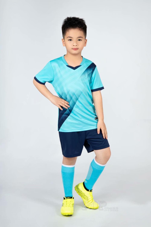 Kids football Uniforms boys girl soccer Jerseys Custom child Soccer Jersey Set Sportswear t-shirt sports suit new style 14