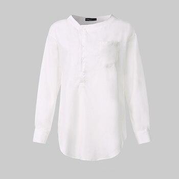 5XL Fashion Shirt 2020 Autumn Long Sleeve Buttons Casual Blouses Celmia Women's Tunic Tops Casual Loose Solid Blusas Femininas 7 8